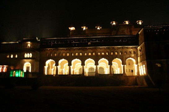 Sound and Light Show Orchha