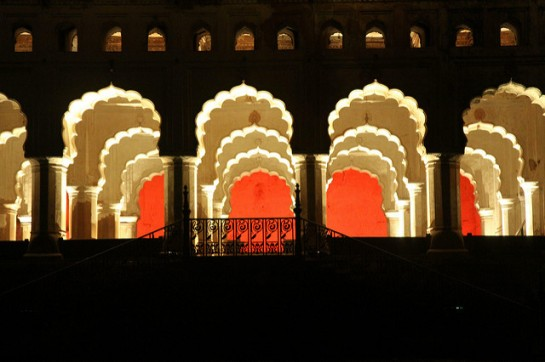 Sound and Light Show Orchha1