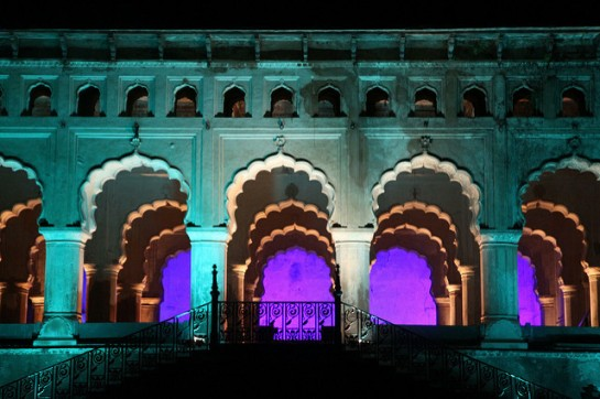 Sound and Light Show Orchha2