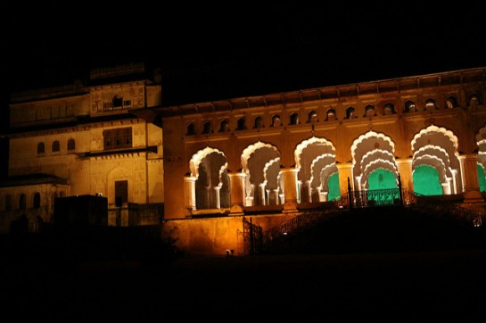 Sound and Light Show Orchha3