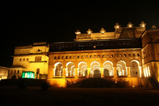 Sound and Light Show Orchha4